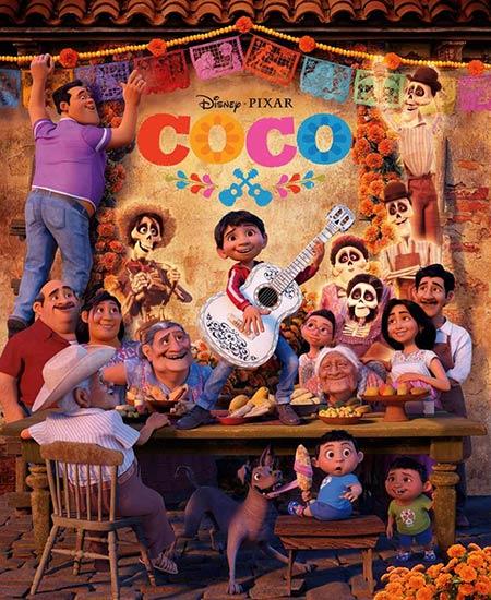 دانلود انیمیشن Coco 2017 کوکو دوبله فارسی