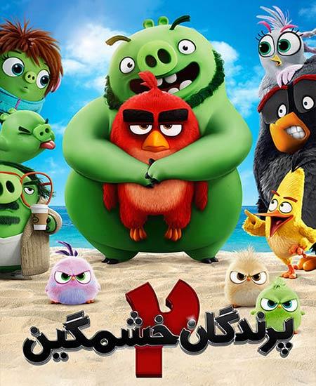 دانلود انیمیشن The Angry Birds Movie 2 2019 پرندگان خشمگین 2 دوبله فارسی
