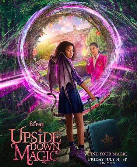 دانلود فیلم جادوی وارونه Upside Down Magic 2020