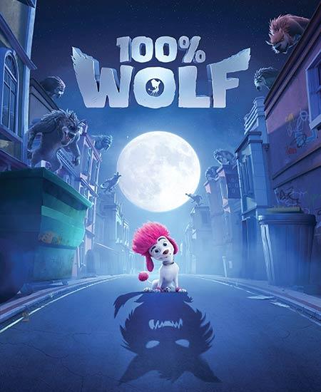 دانلود انیمیشن گرگ مادرزاد 2020 100% Wolf