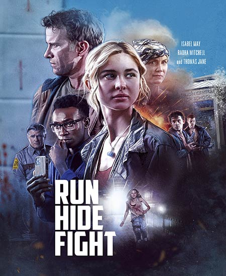 دانلود فیلم فرار کن مخفی شو مبارزه کن Run Hide Fight 2020
