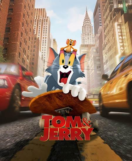 دانلود انیمیشن تام و جری Tom and Jerry 2021