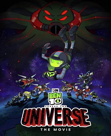 دانلود انیمیشن بن تن در مقابل جهان Ben 10 vs the Universe