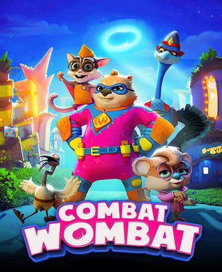 دانلود انیمیشن وامبت قهرمان Combat Wombat 2020