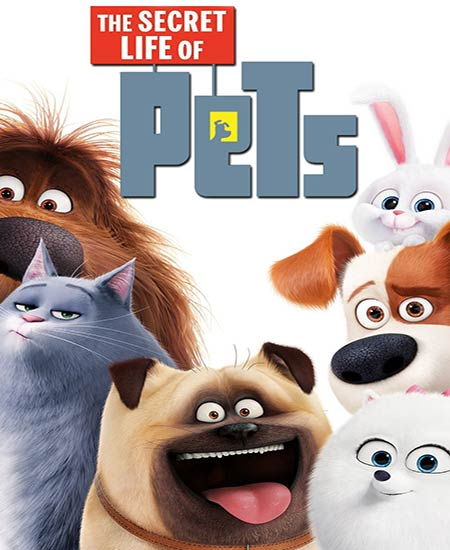 دانلود انیمیشن زندگی مخفی حیوانات خانگی The Secret Life of Pets 2016