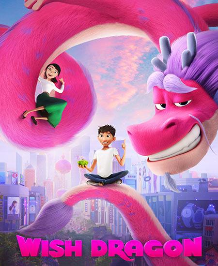 دانلود انیمیشن Wish Dragon 2021 آرزو اژدها دوبله فارسی