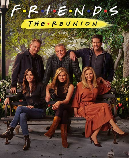 دانلود فیلم دوستان: تجدید دیدار 2021 دوبله فارسی Friends: The Reunion