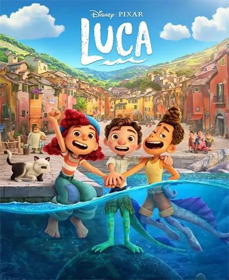 دانلود انیمیشن Luca 2021 لوکا دوبله فارسی با لینک مستقیم