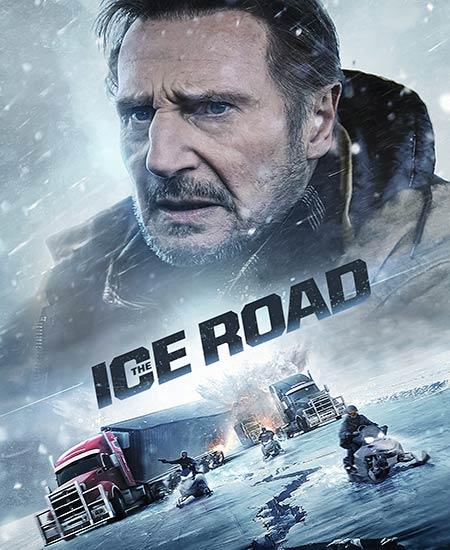 دانلود فیلم The Ice Road 2021 جاده یخی دوبله فارسی