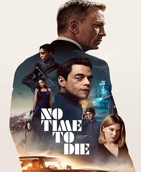 دانلود فیلم No Time to Die 2021 زمانی برای مردن نیست دوبله فارسی